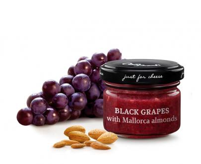 Composta di uva nera con mandorle di Maiorca Real Group